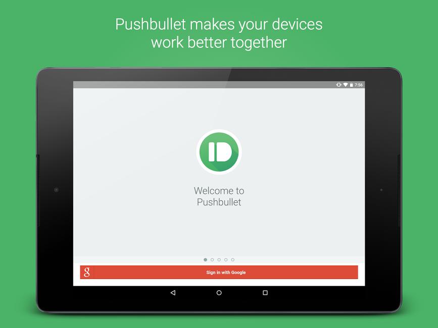 Pushbullet на компьютер - фото 8
