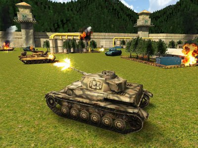 World War Tank Battle 3D