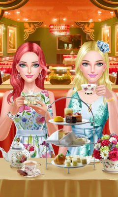 BFF Salon - Tea Room Party